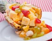 Вкусные фруктовые салаты для похудения