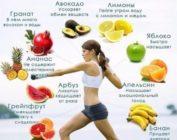 Жиросжигающие фрукты и их калорийность