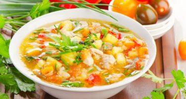 Овощные супы для похудения: рецепты